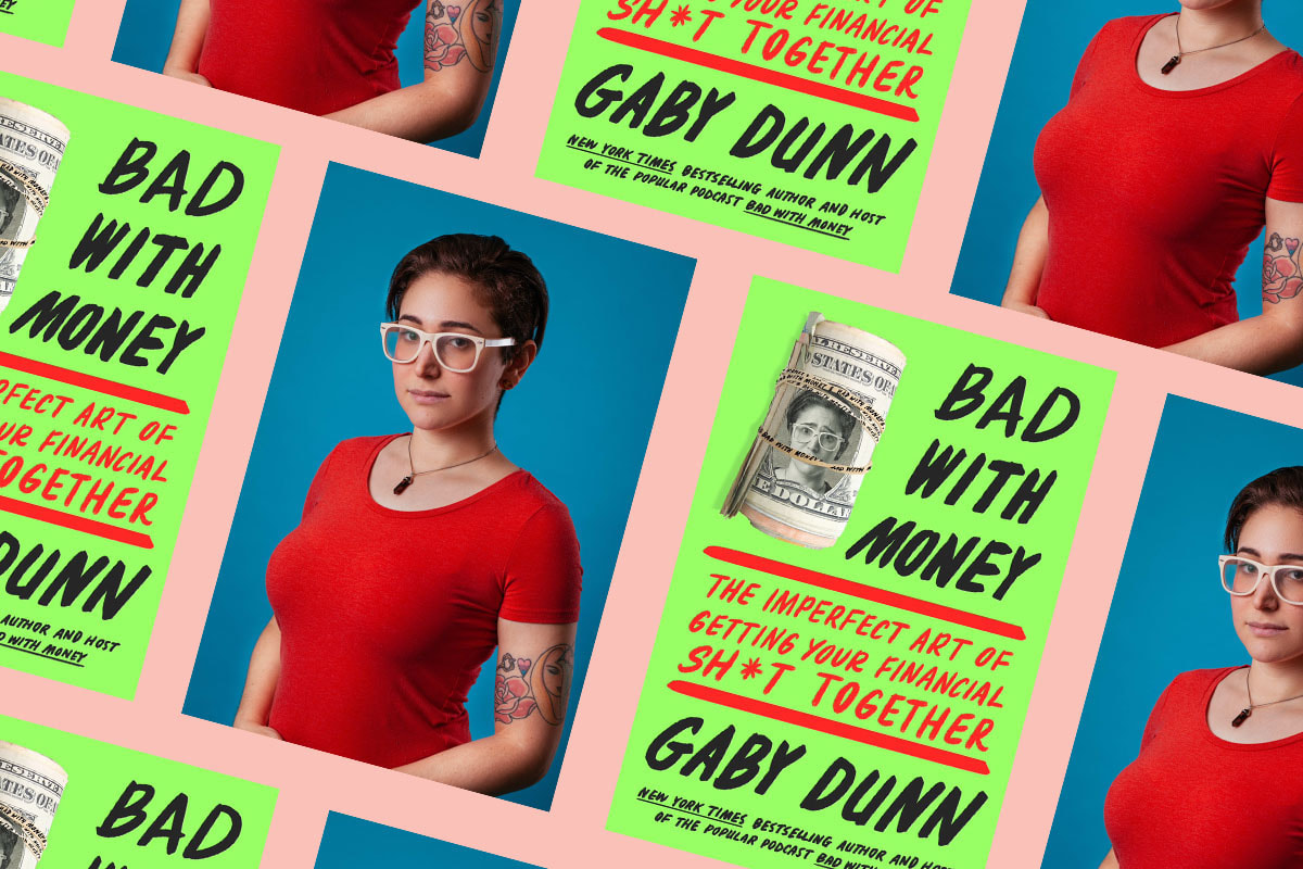 Gaby Dunn and her book, Bad with Money