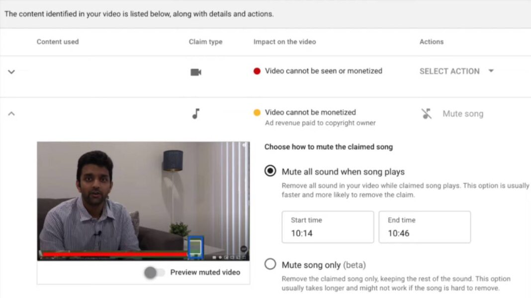 YouTube is updating its copyright timestamp tool