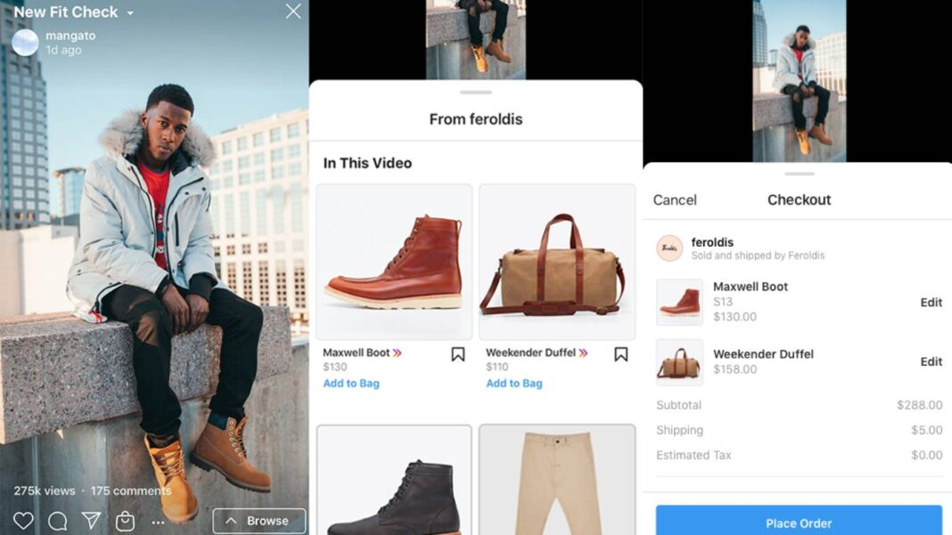 Instagram rolls out shoppable ads on IGTV